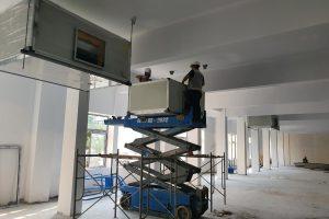 Thi công lắp đặt điều hòa công trình khu vực Bắc Ninh